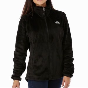 Black The North Face Women's Fleece Jacket Sz S